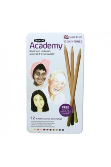 Derwent Academy - Watercolour Skintones 12 set