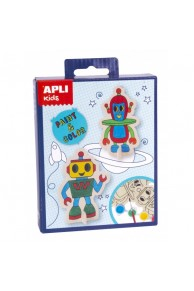 APLI KIDS SET PAINT &COLOR