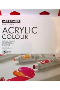 Art Ranger - Set 24 Culori Acrilice 12 ml