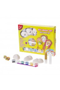 Set creatie pictura BUBU AS0001 mini masti + accesorii
