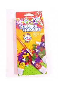TEMPERA 12CUL/SET, COLOURKIDS