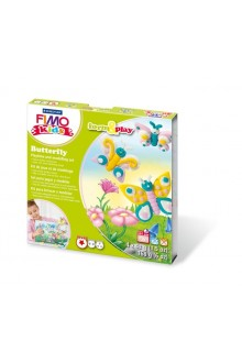 SET MODELAJ FIMO KIDS - FORM AND PLAY - BUTTERFLY