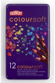Derwent - Coloursoft Set 12