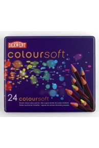 Derwent - Coloursoft Set 24
