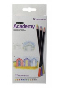 Derwent - 12 Colour Academy Set