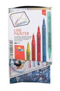 Derwent - Set 5 x Liner colorat Graphik  #01