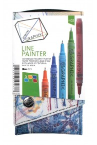 Derwent - Set 5 x Liner colorat Graphik  #02