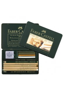 Faber-Castell - Set 12 Art & Graphic Pitt Monochrome
