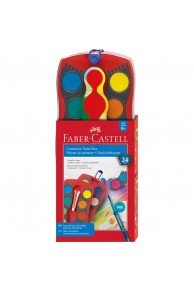 "Faber-Castell - Set 24 acuarele ""Connector"""