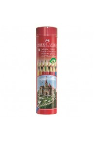 Faber-Castell - Set 24 Creioane colorate in tub