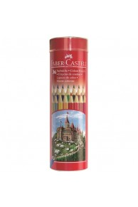 Faber-Castell - Set 36 Creioane colorate in tub