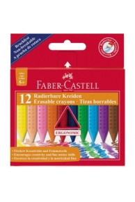 Faber-Castell - Creione colorate plastic colour set 12 (3+)