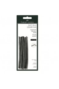 Faber-Castell - Carbune Natural Pitt Monochrome 3-6mm