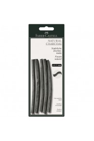 Faber-Castell - Carbune Natural Pitt Monochrome 7-12mm
