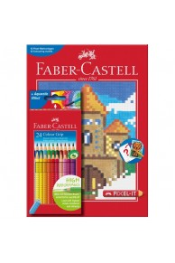 Faber-Castell - Set PIXEL IT 24 creioane colorate