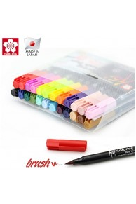 Sakura - KOI Colouring Brush Pen Set 24