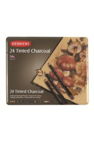 Derwent - Tinted Charcoal Set 24