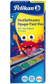 Herlitz - Set 12 Acuarele Detasabile
