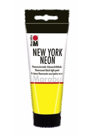 MARABU -New York acrilic neon yellow 100 ml