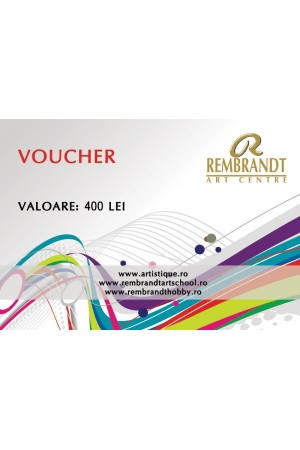 Voucher Rembrandt Art Center 400 lei
